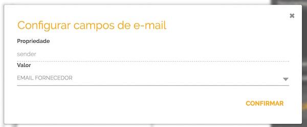 Mapeamento do endereço de email para o campo do formulário do fluxo automatizado